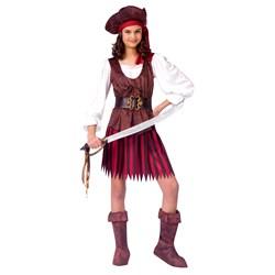 Girl High Seas Buccaneer Child Costume