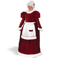 Velvet Mrs. Claus Adult Plus