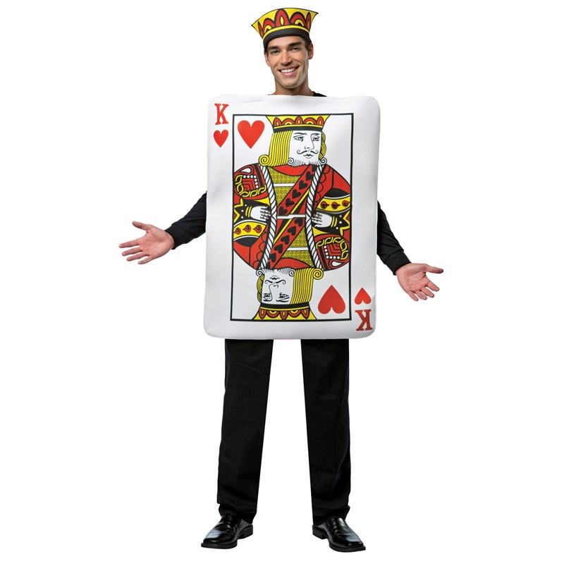 King of Hearts Deluxe Playing Card Adult Costume for the 2015 Costume season.