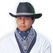 Cowboy Hat Felt - Black (Economical)
