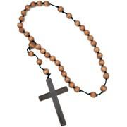 Jumbo Wooden Monk Rosary Beads