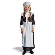 Traditional Colonial Girl Child Medium