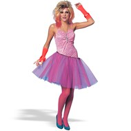 80's Glam Girl  Adult Costume