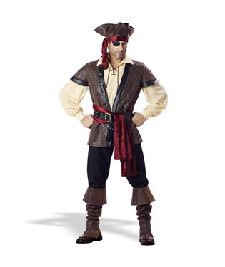Rustic Pirate – Elite Adult Collection Costume