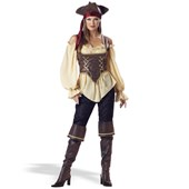 Rustic Pirate Lady - Elite Adult