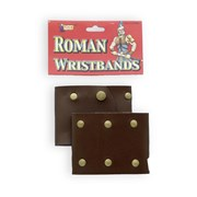 Roman Wrist Bands - Leather
