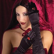 Long Sexy Gothic Gloves