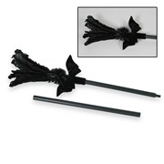 Black Feather Sparkle Broom