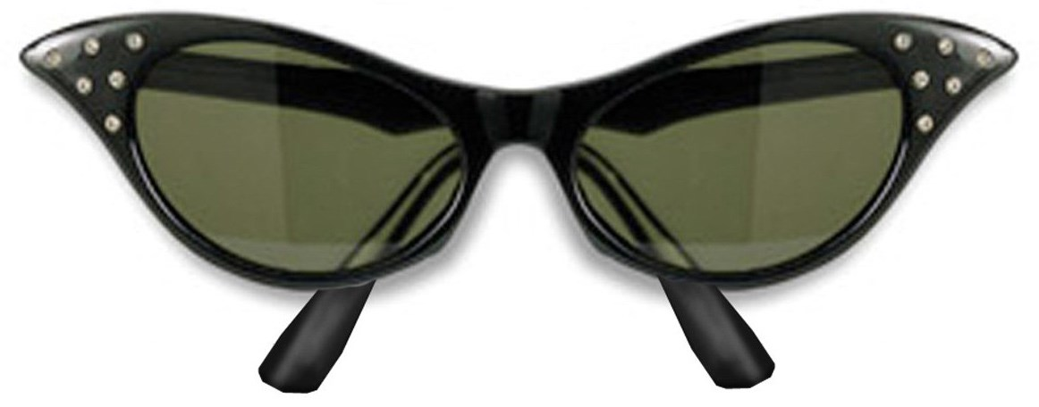 Image of 1950's Sunglasses Adult