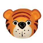 Playful Tiger Mask Child
