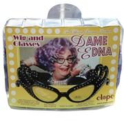 Dame Edna Wig And Glasses Set