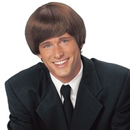 Mod Style Wig (Brown)