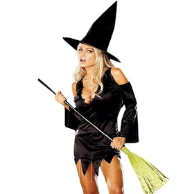 Rhinestone Witch Adult Medium