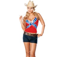 Confederate Cutie Adult Small