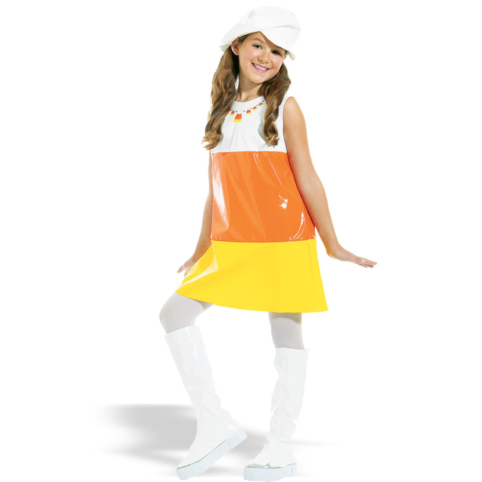 Adult female candy corn costume