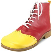 Wing Tip Red And Yellow Clown Shoes Adult