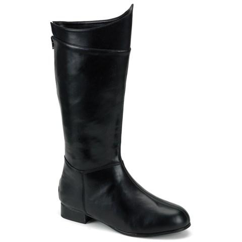 Super Hero (Black) Adult Boots