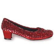 Red Sequin Shoes Child