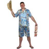 Hawaiian Shirt & Short Set Adult
