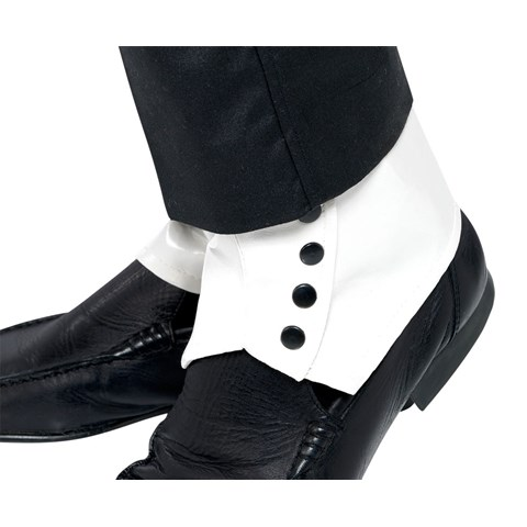 Spats White Adult