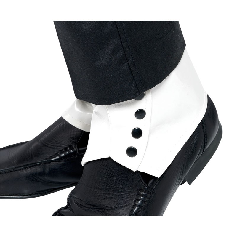 Spats White Adult for the 2015 Costume season.