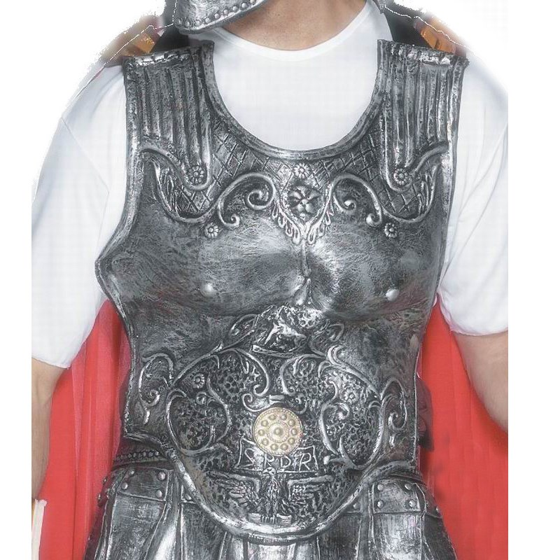 Roman Armour Breast Plate Adult Rubber