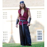 Sailor's Vest (Burgundy) Renaissance Collection Adult