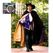 Noble Cloak with Pin Renaissance Collection Adult