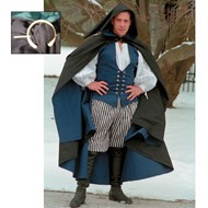 Twill Cloak with Pin - European Adult Collection