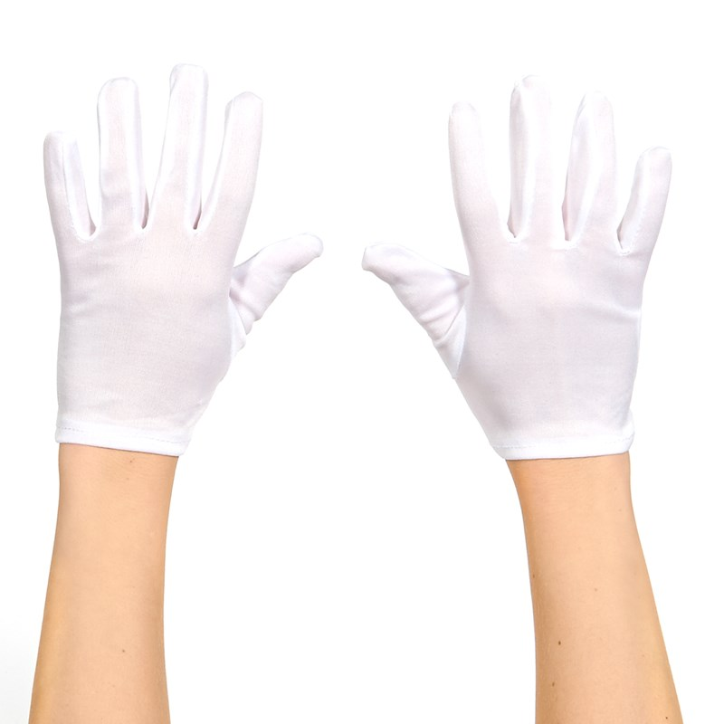 White Gloves (Adult) for the 2015 Costume season.