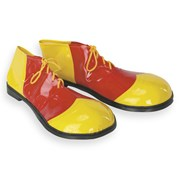 Bozo Deluxe Red And Yellow Shoes Adult