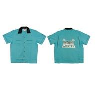 Classic Bowler Shirt-Tropic Motel  Adult