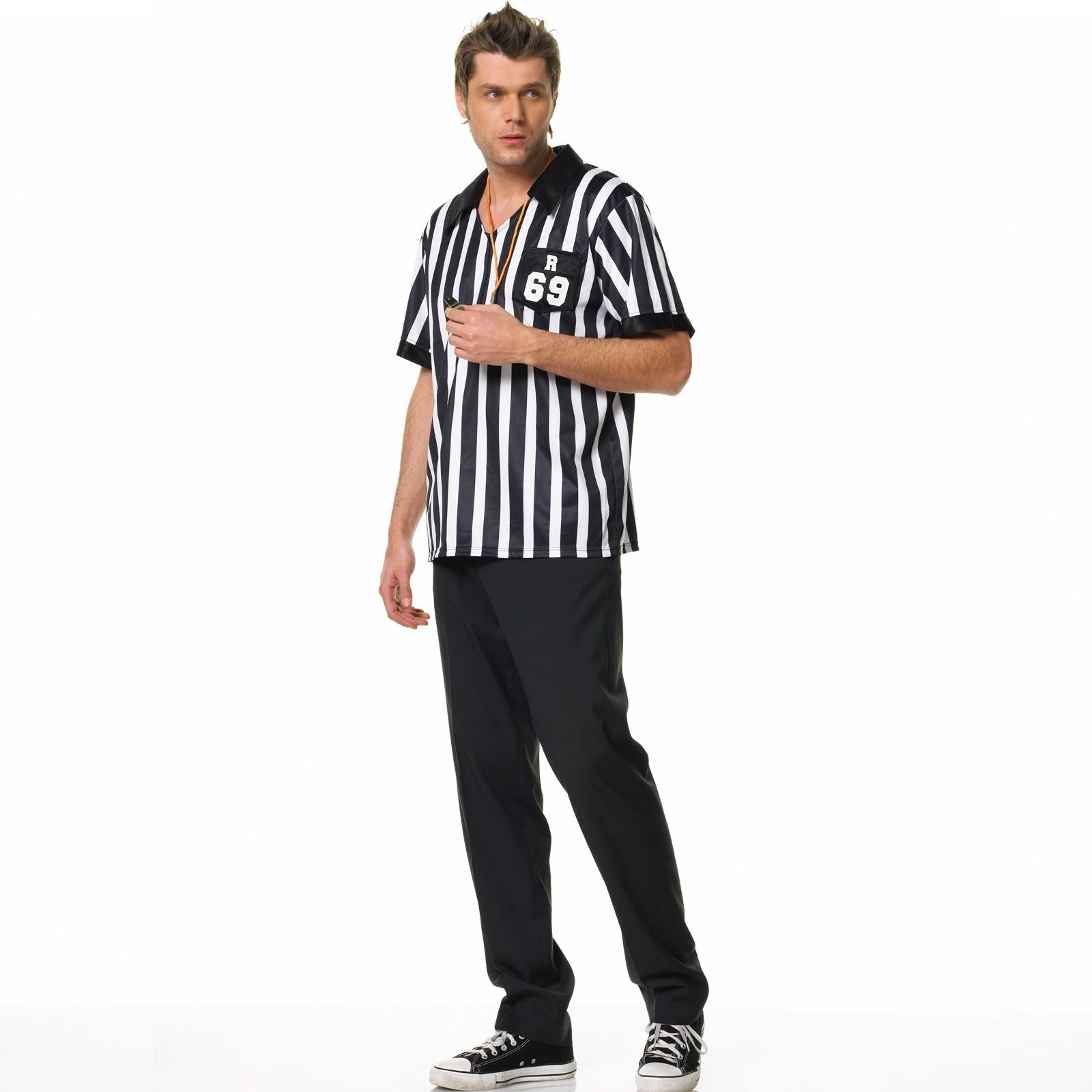 Referee Shirt Adult Costume