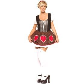 Heidi Ho Dress Plus  Adult