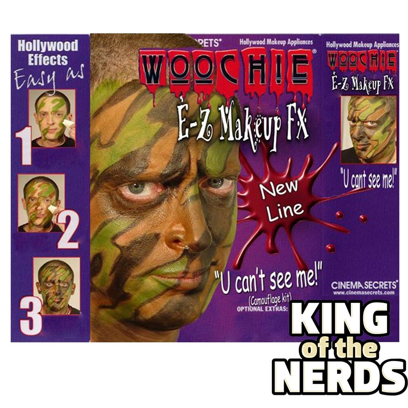 Camouflage Makeup Kit for the 2015 Costume season.