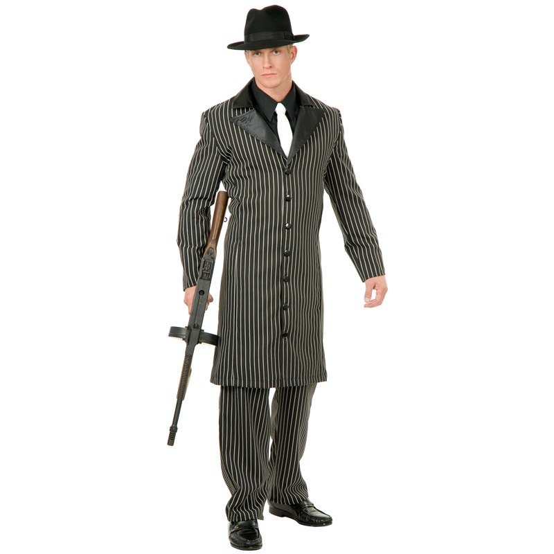 Gangster Suit Long Jacket Adult Costume for the 2015 Costume season.