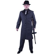 Gangster Suit Long Jacket Plus  Adult