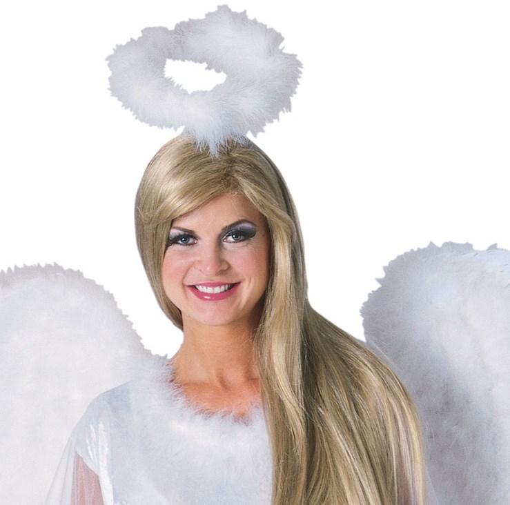 Marabou Feather Halo White for the 2015 Costume season.