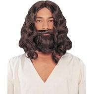 Biblical Wig And Beard Brown