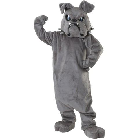 Bulldog Spike Mascot Adult Costume