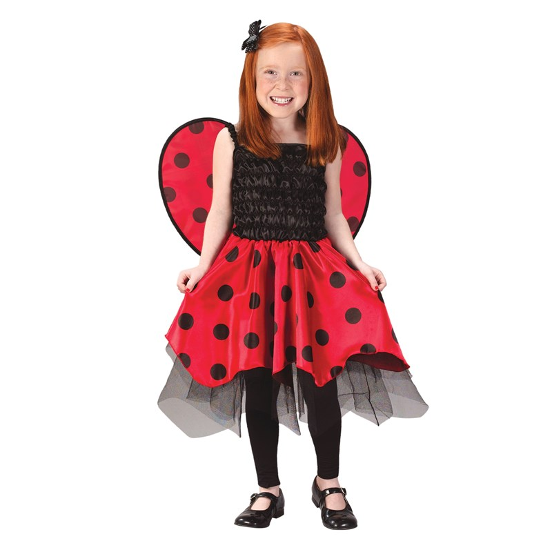 Lady Bug with Wings Toddler  and  Child Costume for the 2015 Costume season.