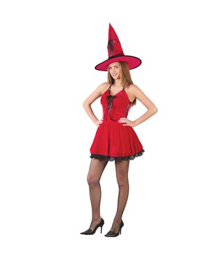 Red Hot Witch  Teen Costume