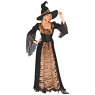 Taffeta Coffin Witch  Adult