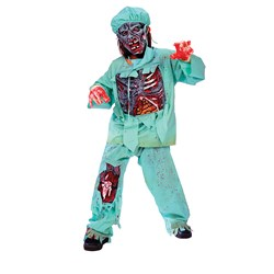 Zombie Doctor Child Costume