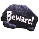 Color Change Garden Rock - Beware!