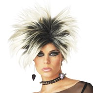 Frenzy (Blonde/Black) Wig