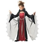 Girl Vampire Halloween Costume with Wings