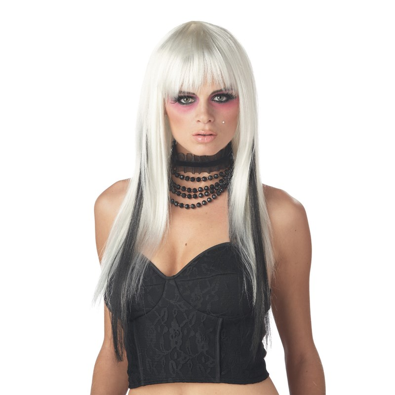Chopstix (White and Black) Wig for the 2015 Costume season.