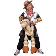 Ride A Pony Set (Brown)  Child