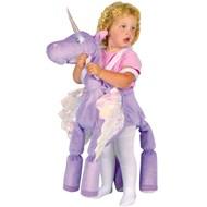 Ride A Fantasy Unicorn (Purple)  Child